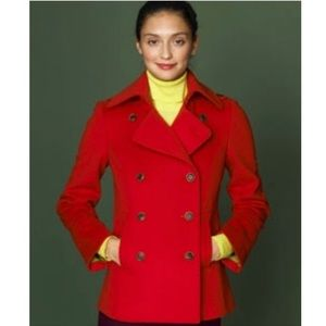 J. Crew Double Breasted Pea Coat Size M